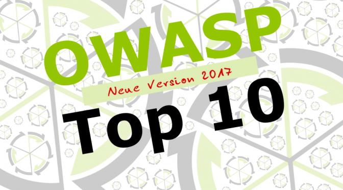OWASP Top 10 – Deutsche Übersetzung erschienen
