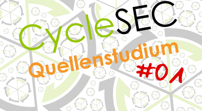CycleSEC Quellenstudium #01: Passwortsicherheit