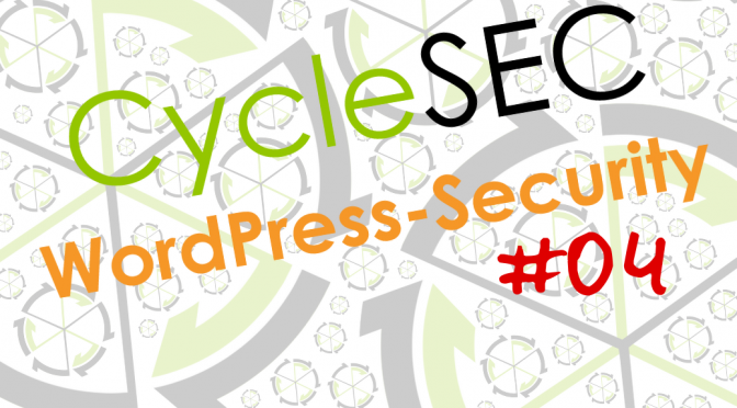 CycleSEC WordPress-Security #04: Online-Editoren deaktivieren