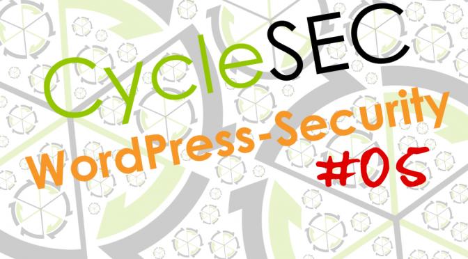 CycleSEC WordPress-Security #05: Zwei-Faktor-Authentifizierung
